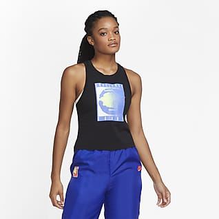 NikeCourt เสื้อกล้ามเทนนิสเอวลอยผู้หญิง
