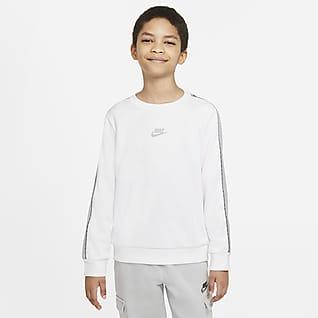 Nike Sportswear Kerek nyakkivágású melegítőfelső nagyobb gyerekeknek (fiúknak)