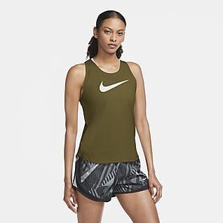 Nike Swoosh Run Débardeur de running pour Femme