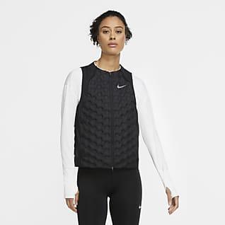 Nike Aeroloft Hardloopbodywarmer voor dames