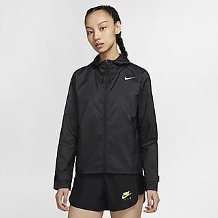Nike Essential เสื้อแจ็คเก็ตวิ่งผู้หญิง