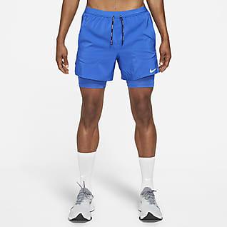Nike Flex Stride Shorts de running 2 en 1 de 13 cm para hombre