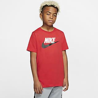 Nike Sportswear BaumwollT-Shirt für ältere Kinder