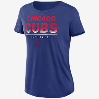 Nike Dri-FIT Lettering Essential (MLB Chicago Cubs) Women's T-Shirt