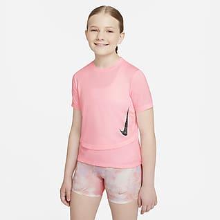 Nike Dri-FIT Instacool Træningstop til større børn (piger)
