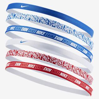Nike Pandebånd med print (pakke med 6 stk.)