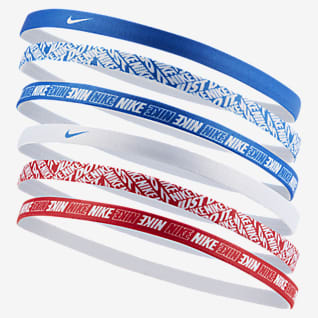 Nike Stirnbänder mit Print (6er-Pack)