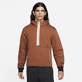 Nike Sportswear Style Essentials+ Ανδρική μπλούζα με κουκούλα και φερμουάρ στο μισό μήκος