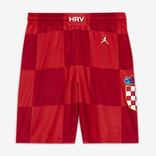 Kroatien Jordan (Road) Limited Herren-Basketballshorts