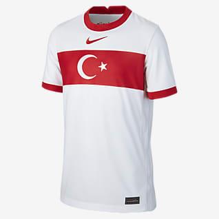Turquía de local Stadium 2020 Camiseta de fútbol para niños talla grande