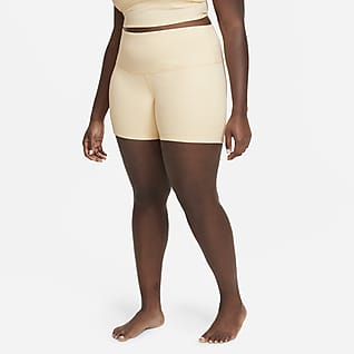 Nike Yoga Shorts a cuadros para mujer talla grande