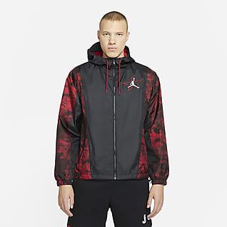 Jordan Legacy AJ6 เสื้อแจ็คเก็ตน้ำหนักเบาผู้ชาย