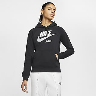 Nike Sportswear Essential Sudadera con capucha sin cierre para mujer