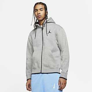 Jordan Jumpman Classics Fleece-hættetrøje med lynlås i fuld længde til mænd