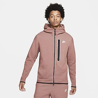 Nike Sportswear Tech Fleece Hættetrøje med lynlås i fuld længde til mænd