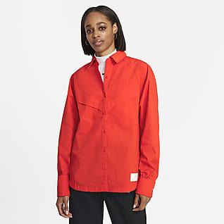 Nike Sportswear Icon Clash Женская футболка с длинным рукавом