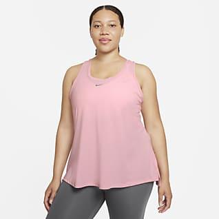 Nike Dri-FIT One Luxe Camiseta de tirantes con espalda deportiva de ajuste estándar para mujer (talla grande)