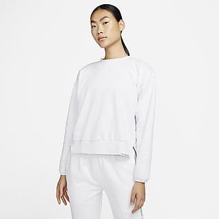 Nike Standard Issue Basketbalsweatshirt met ronde hals voor dames