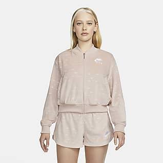 Nike Air Chamarra de velour para mujer