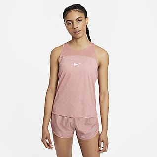 Nike Miler Run Division Samarreta de tirants estampada de running - Dona