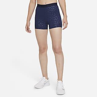 Nike Pro Dri-FIT Shorts estampados de tiro alto de 8 cm para mujer