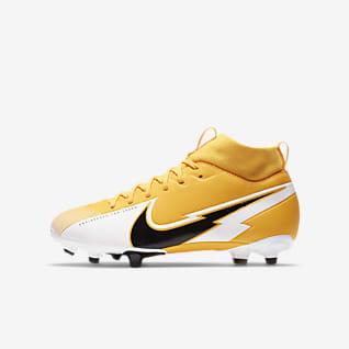 Nike Jr. Mercurial Superfly 7 Academy MG Fotballsko til flere underlag til barn