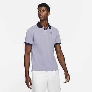 NikeCourt Multiplier Max Dar Kesimli Erkek Polo Üst