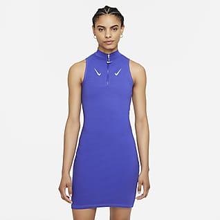 Nike Sportswear Swoosh Women's Sleeveless 1/2-Zip Dress