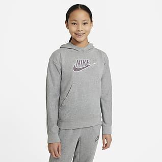 Nike Sportswear Mikina s kapucí pro větší děti