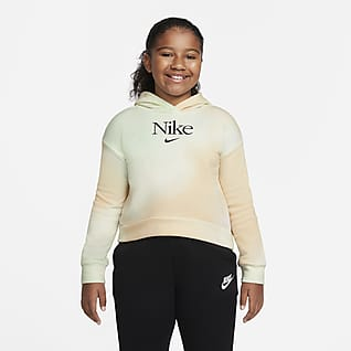 Nike Sportswear Big Kids' (Girls') Pullover Hoodie (Extended Size)