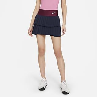 NikeCourt Advantage Dámská skládaná tenisová sukně