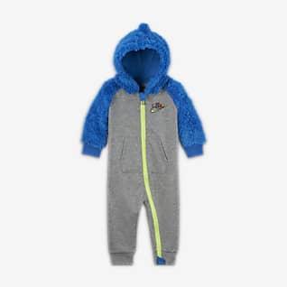 Nike Pajacyk z zamkiem na całej długości dla niemowląt (0–9 M)