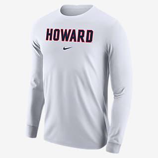 Nike College (Howard) Men's Long-Sleeve T-Shirt