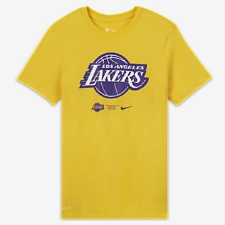 Los Angeles Lakers Logo Tee-shirt Nike Dri-FIT NBA pour Homme