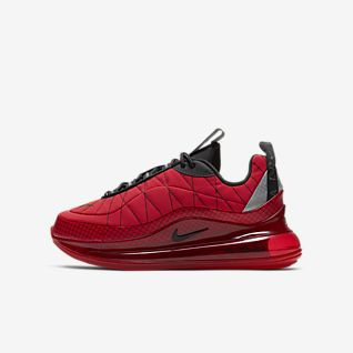 Kids Red Shoes. Nike SE
