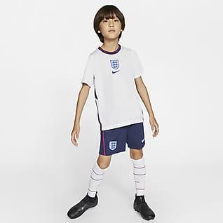 England 2020 Home Fußballtrikot-Set für jüngere Kinder
