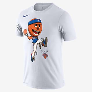New York Knicks Mascot Men's Nike Dri-FIT NBA T-Shirt