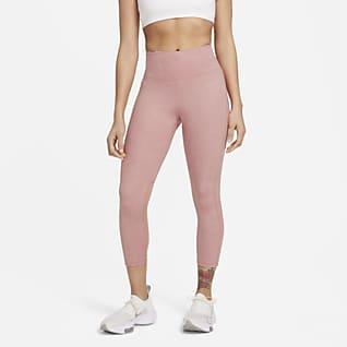 Nike Fast Run Division 3/4-Lauf-Leggings mit halbhohem Bund für Damen
