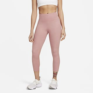 Nike Fast Run Division Women's Mid-Rise Crop Running Leggings