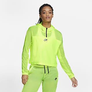 Nike Air Löparjacka med huva för kvinnor