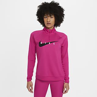 Nike Swoosh Run Löpartröja för kvinnor