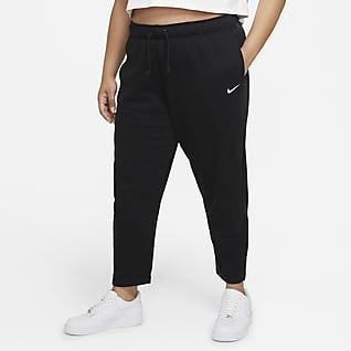 Nike Sportswear Collection Essentials Pantalones de tejido Fleece para mujer (talla grande)