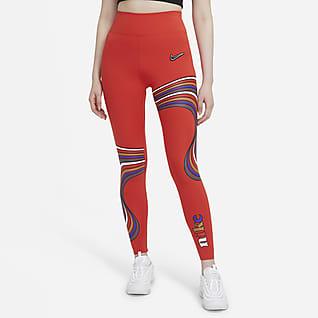 Nike One Luxe Women's Mid-Rise Printed Leggings