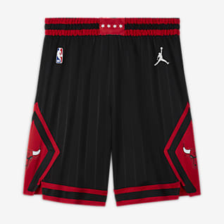 Chicago Bulls Statement Edition Jordan NBA Swingman Shorts für Herren