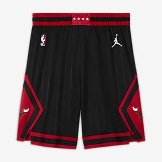 Chicago Bulls Statement Edition Short Jordan NBA Swingman pour Homme