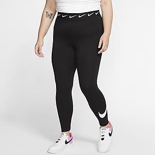Nike Sportswear Club เลกกิ้งเอวสูง 7/8 ส่วนผู้หญิง (พลัสไซส์)
