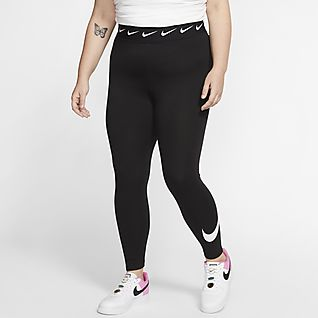 Nike Sportswear Club 女款高腰內搭褲 (加大尺碼)