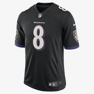 NFL Baltimore Ravens (Lamar Jackson) Men's Limited Speed Machine Football Jersey