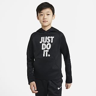 Nike Therma Big Kids' (Boys') Graphic Pullover Training Hoodie