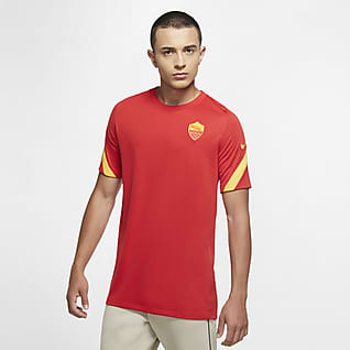 A.S. Roma Strike Men's Short-Sleeve Football Top